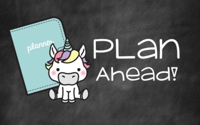 It's almost planner time!