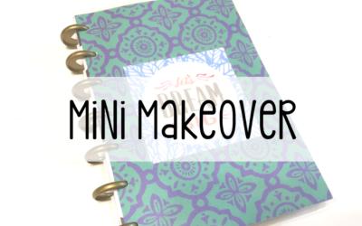 Mini Happy Planner Cover Template